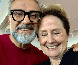 Massimo and Alice Waters talk sustainability in San Francisco