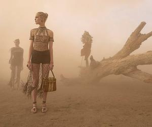 98d6f2f889a4 His Valentino fashion shoot was almost marred - but in the end made - by a  ferocious dust cloud in Kenya
