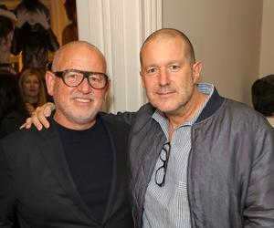 Jonny Ive, Marc Newson and Erin O'Connor join Fabien Baron for the MATCHESFASHION launch party of his new book