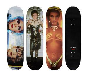 These Nan Goldin skateboards have no drag resistance!