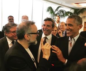 Massimo Bottura breaks bread with Obama in Milan