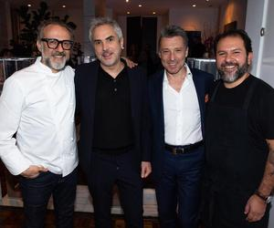Massimo Bottura and Enrique Olvera's Oscar winners' meal