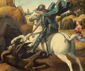 When Raphael painted St George