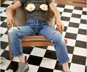 What is it with Sarah Lucas and eggs?