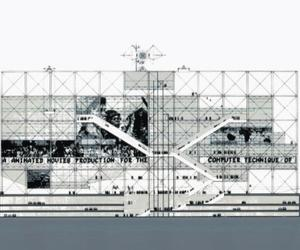 Sketch to Skyline - What Richard Rogers and Renzo Piano's Pompidou Centre in Paris looked like on day one