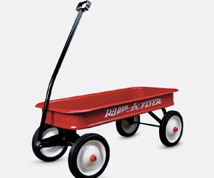Cool Designs for Cultured Kids - The Radio Flyer Wagon