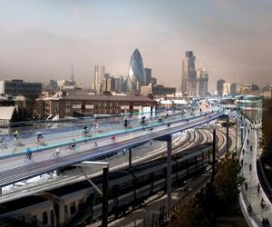Could Lord Foster's SkyCycle scheme take off?