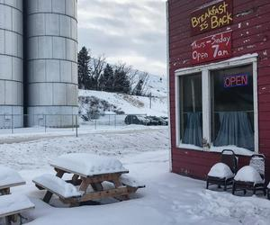 Stephen Shore's snowy American Surfaces