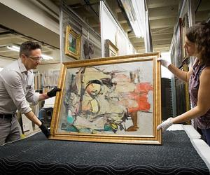 The amazing story behind this stolen Willem de Kooning