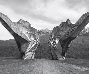 These Brutalist War memorials have very brutal back stories