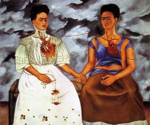 Frida Kahlo, divided