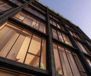 Aren't these wooden buildings beautiful?