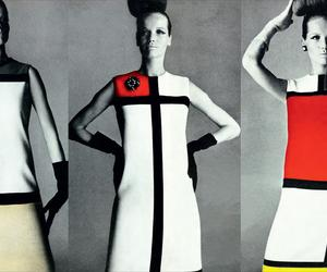 No one did De Stijl like Yves Saint Laurent