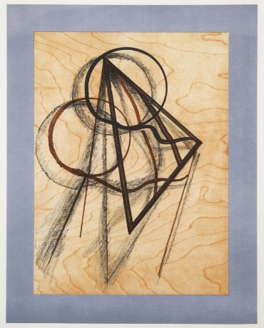 Ombres sur fond bois (1972) by Man Ray, courtesy of Francis M. Naumann Fine Art
