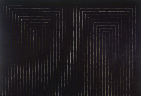 The Marriage of Reason and Squalor II (1959) by Frank Stella