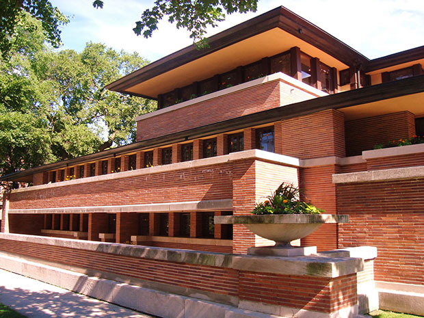fancy cocktails at this frank lloyd wright gem photography