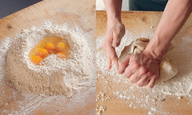 Fresh pasta dough | Food | Agenda | Phaidon