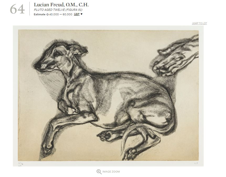 Lucian Freud's very English love of animals