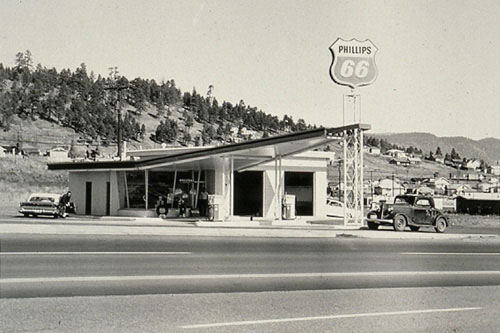 From Twentysix Gasoline Stations (1962) by Ed Ruscha