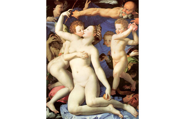 Agnolo Bronzino, An Allegory of Venus and Cupid (1546)