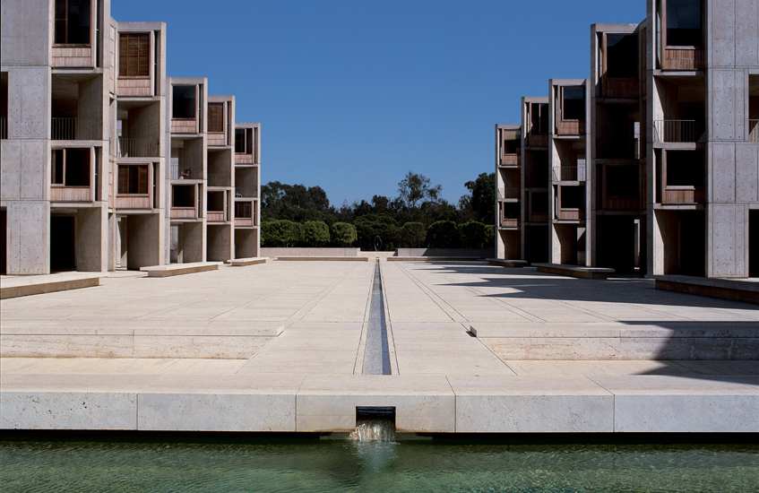 Louis Khan, Salk Institute for Biological Studies, La Jolla (1959-65)