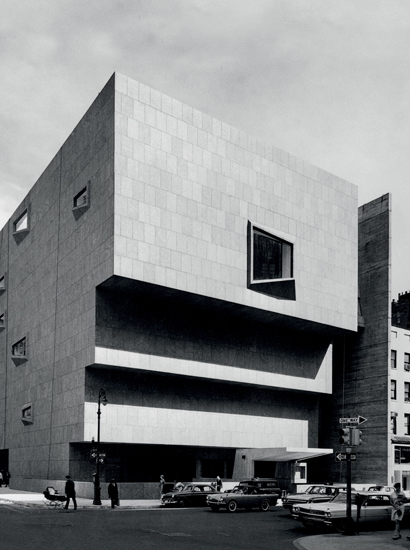 Marcel Breuer Whitney Museum Of American Art New York 1966