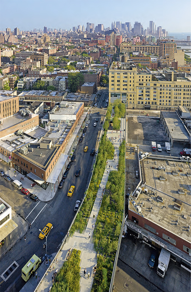 The High Line, as planted by Piet Oudolf