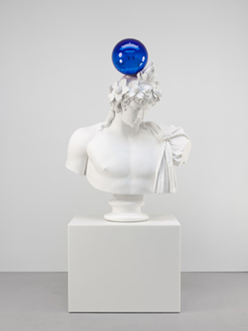 Gazing Ball (Antinous Dionysus) (2013) by Jeff Koons