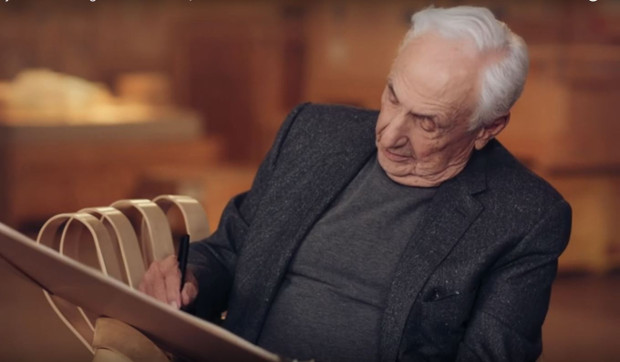 Frank Gehry talks creativity and staying strong