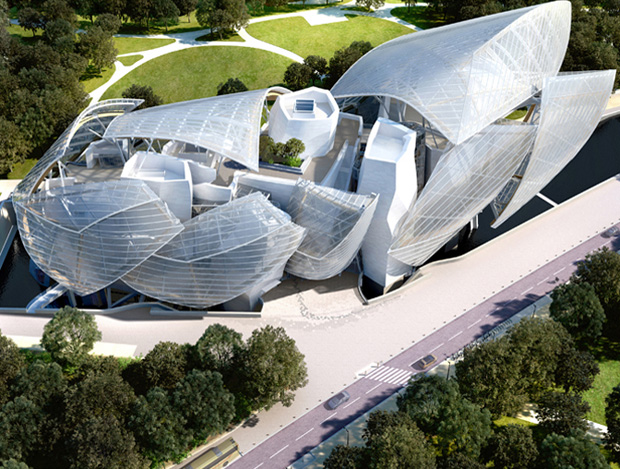 Frank Gehry's Fondation Louis Vuitton, Paris