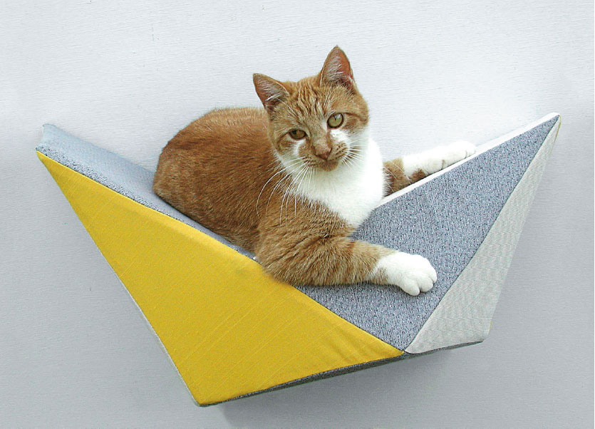 Geometric Cat Bed, by LikeKittysVille