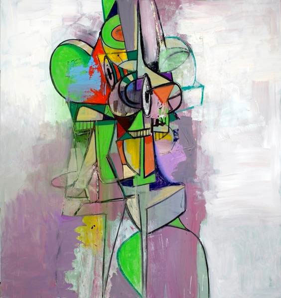 Screeching Figure 2013 - George Condo