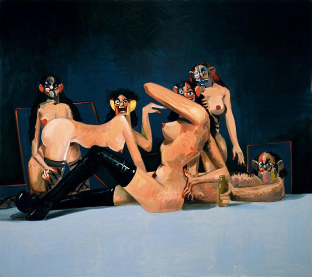 Orgy Composition 2008 - George Condo
