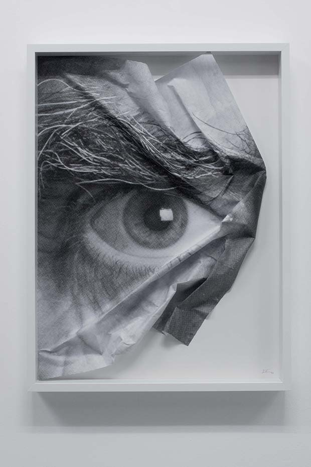 The Wrinkles of the City, Los Angeles,2011©JR-­?ART.NET, Courtesy Galerie Perrotin