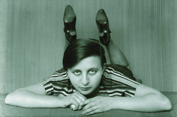 Gertrud Arndt self portrait, at the Bauhaus, 1926-27