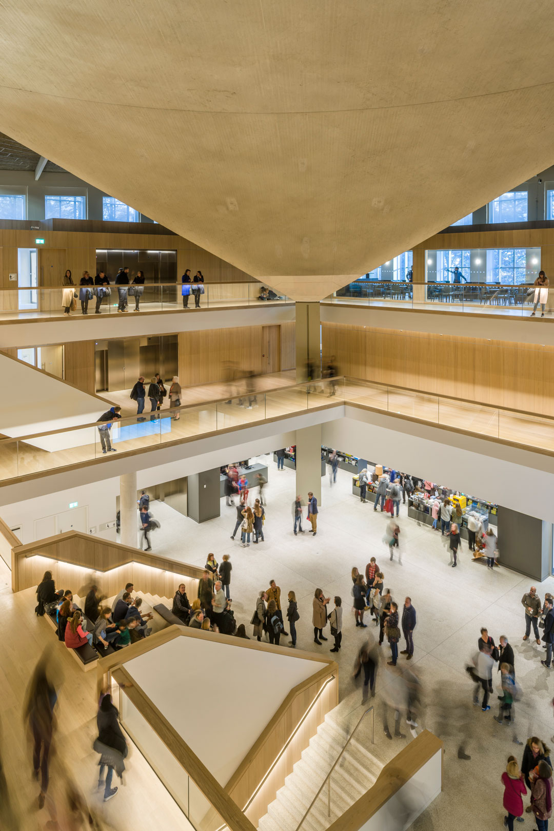 The interior of the Design Museum. Photograph by Gareth Gardner