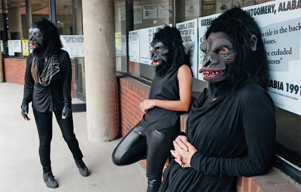 The Guerrilla Girls 2015. As reproduced in Co-Art