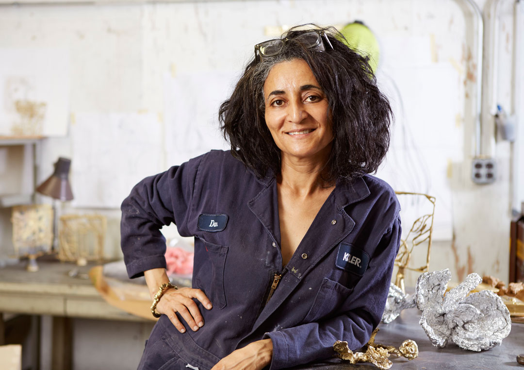 Ghada Amer - Photo courtesy Cheim & Read, New York and Arts/Industry. Photographer Scott Seifert.