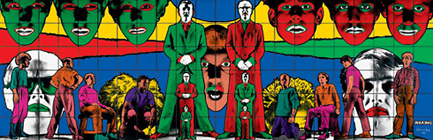 Waking (1984) by Gilbert and George