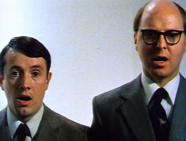 Gilbert & George, The World of Gilbert & George (video still), 1981. 16mm colour film transferred to video, dimensions variable. Courtesy the artists and Lehmann Maupin, New York and Hong Kong.