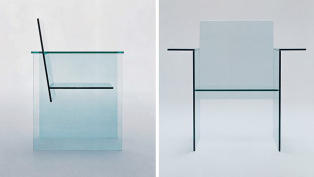 Shiro Kuramata's Glass Chair (1976)
