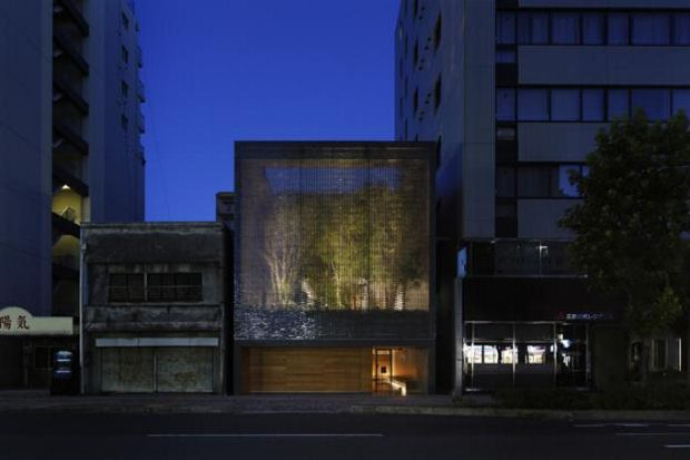 The Optical Glass House by Hiroshi Nakamura