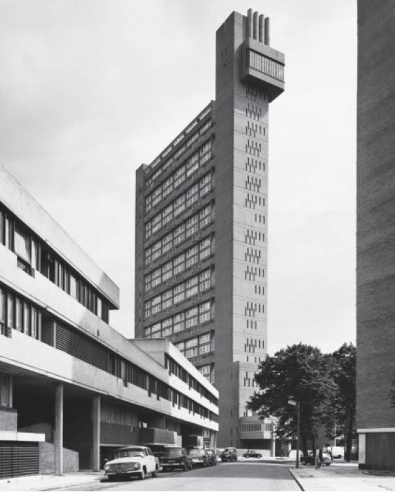 Trellick Tower (1972) in West London by Ernö Goldfinger - featured in Atlas of Brutalist Architecture