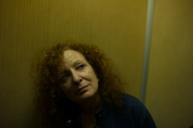 In the elevator at the Bauer, Venice, Italy, October 2013, by Nan Goldin