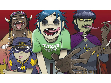 Gorillaz by Jamie Hewlett (2000)