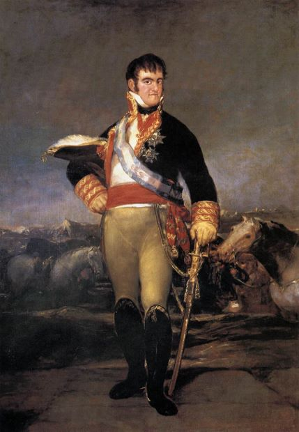 King Ferdinand VII (1814)  by Francisco Goya