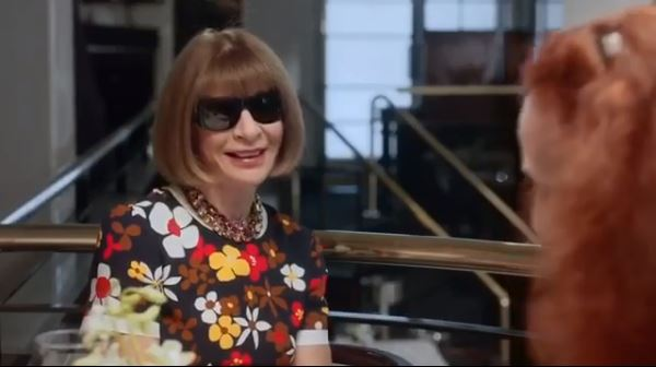 Anna Wintour and Grace Coddington. Image courtesy of Coddington's Instagram