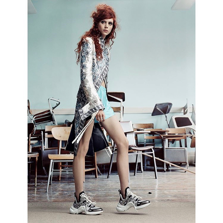 Grace Coddington's new shoot for British Vogue; photography by Craig McDean; model: Natalie Westing