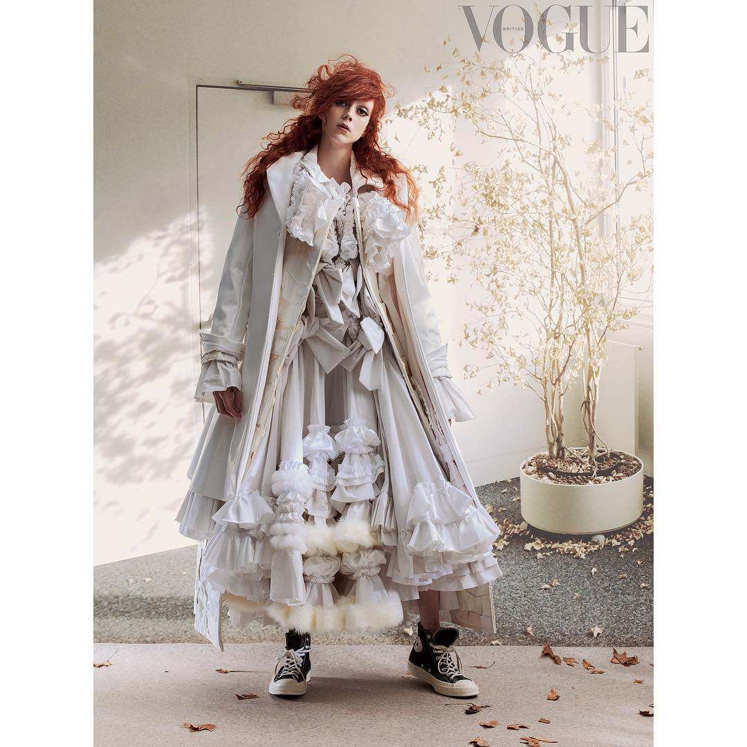 Grace Coddington makes a return to British Vogue