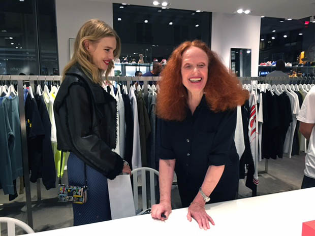 The fashion elite turn out for Grace's Paris signing